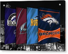 Colorado Sports Teams Acrylic Print by Joe Hamilton