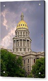 Colorado State Capitol Building Denver Co Acrylic Print