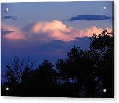 Colorado Storm Clouds Acrylic Print