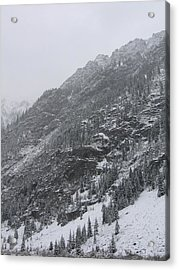 Acrylic Print featuring the photograph Colorado Storm by Kristine Bogdanovich