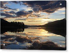 Acrylic Print featuring the photograph Colorado Sunset by Chris Thomas