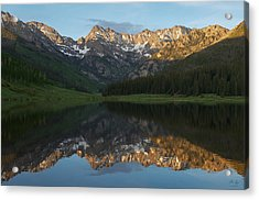 Colorado Sunset - Piney Lake Acrylic Print