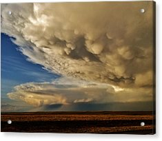 Acrylic Print featuring the photograph Colorado Supercells by Ed Sweeney