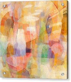 Colorbreak Acrylic Print by Lutz Baar