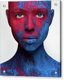 Colored Ecstasy Acrylic Print