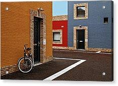 Colored Facades Acrylic Print