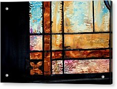 Colored Impressions Acrylic Print by Spencer Meagher