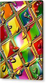 Colored Mirror By Nico Bielow Acrylic Print