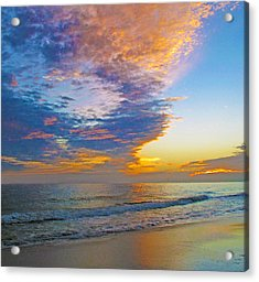 Colored Ocean Acrylic Print