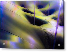 Colored Symetry Acrylic Print by Eric Sloan