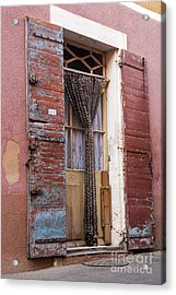 Colored Textures Acrylic Print by Bob Phillips