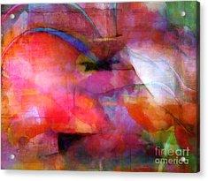 Colorflow Acrylic Print by Lutz Baar