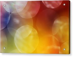 Colorful Abstract 7 Acrylic Print by Mary Bedy