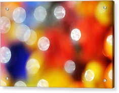 Colorful Abstract 8 Acrylic Print by Mary Bedy