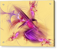 Colorful Abstract Background  Acrylic Print by Odon Czintos