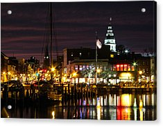 Colorful Annapolis Evening Acrylic Print