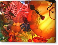 Colorful Acrylic Print by CarolLMiller Photography