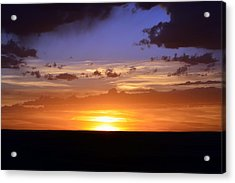 Colorful Colorado Sunset Acrylic Print