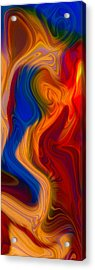 Colorful Compromises Acrylic Print by Omaste Witkowski