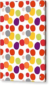 Colorful Confetti  Acrylic Print