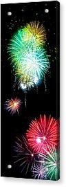 Colorful Explosions No3 Acrylic Print by Weston Westmoreland