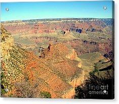 Colorful Grand Canyon Acrylic Print by John Potts
