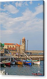 Colorful Harbour Acrylic Print