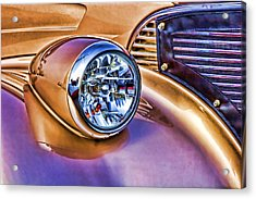 Colorful Hotrod Acrylic Print by Carol Leigh
