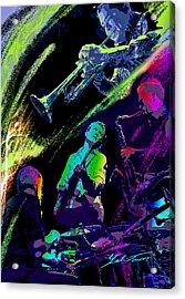 Colorful Jazz Acrylic Print