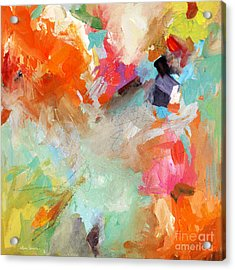 Colorful Joy Acrylic Print