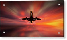 Colorful Landing. Acrylic Print by Leif L?ndal