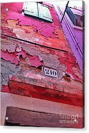 Colorful Layers  Acrylic Print