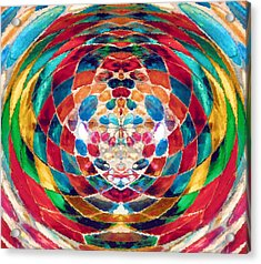 Colorful Mosaic Acrylic Print