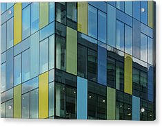 Colorful Office Windows Acrylic Print