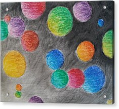 Colorful Orbs Acrylic Print