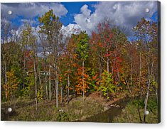 Colorful Ravine A Wider Angle Acrylic Print