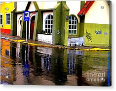 Colorful Reflection Acrylic Print by Arie Arik Chen