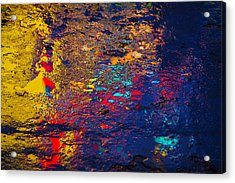 Colorful Reflections Acrylic Print by Garry Gay
