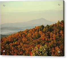 Colorful Ridge Acrylic Print by Michael Gooch