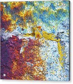 Colorful Rock 5973 Acrylic Print by Bob Hills