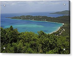 Colorful Saint Thomas  Acrylic Print by Willie Harper