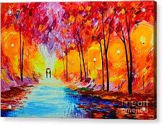 Colorful Season Acrylic Print