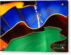 Colorful Shells Acrylic Print