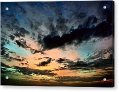 Colorful Sky. Acrylic Print by Siti  Syuhada