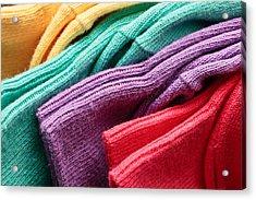 Colorful Socks Acrylic Print by Tom Gowanlock