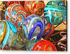 Colorful Spheres Acrylic Print
