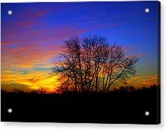 Colorful Sunrise Acrylic Print