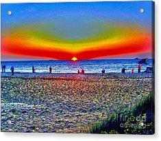 Colorful Sunset  Acrylic Print