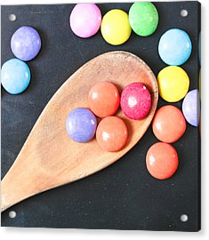 Colorful Sweets Acrylic Print