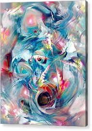 Colorful Water Acrylic Print
